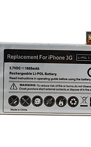 1600mAh 3.7V Replacement Lithium Battery with Tools for iPhone 3G