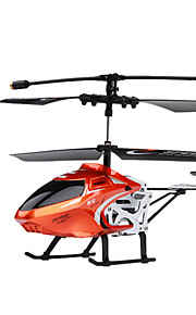 tamanho da palma de 3.5 canais 3.5ch escala rc helicóptero com giroscópio (no.8004)