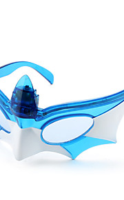 LED Blinkende Batman Mask Briller for Kids (Assorterede farver)