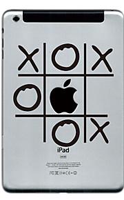o och x designen beskyddare klistermärke för iPad Mini 3, iPad Mini 2, iPad Mini