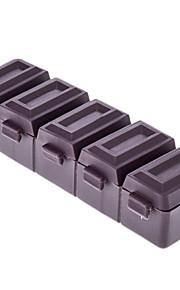 Chocolate Style 5 Pill Box Grades