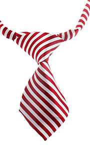 Small Stripe Pattern Neck Tie for Husdyr Hunder Katter (assortert farge, Neck: 26-38cm)