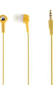 iPod를위한 GNP-J40 스테레오 이어폰 (모듬 색상)