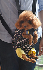 dejlige bowknot mønster foran rygsæk taske transportkasse til hunde (s-xl)
