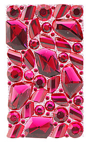 Conspicuous Fuchsia Jewelry Protective Body Sticker for Cellphone