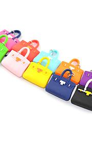3.5mm Rubber Handbag Pattern Anti-dust Plug(Random Colors)