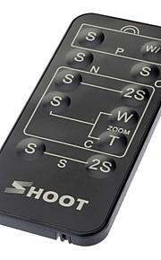 Trådløs IR fjernbetjening til Sony / Canon / Nikon / Olympus / Pentax (1xCR2025)