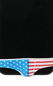 아이폰 4/4S/5에 대한 영국 깃발 비키니 패턴 버튼 커버