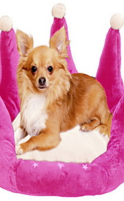 Graciosa Crown Forma Dog 45x45cm Bed (cores sortidas)