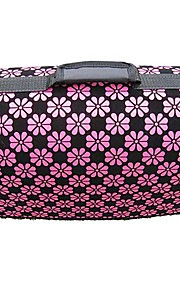 Pink Flower Pattern Carrier Bag with Straps for Pets Dogs (Assorted Colors, Sizes)