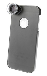 20X optisk mikroskop Linse med Ultraslim Matte PC Hard Case for iPhone 5