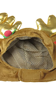 Lovely Classic Christmas Deer Shaped Hat for Pets Dogs Cats (Assorted Sizes)