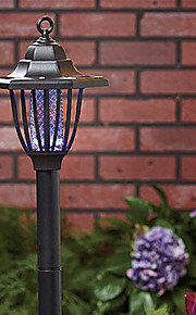 Solar Mosquito Zapper Stake Luz Caminho de Jardim Iluminação (cis-57188)