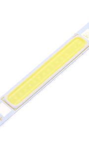 5W COB 900LM 6000K Cool White Light Strip (DC 9-11V)