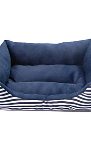 Cozy Warm Stripes Pattern Sofa Style Bed for Pets Dogs (Assorted Colors)