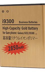 2850mAh mobiele telefoon batterij voor Samsung Galaxy i9300 s3