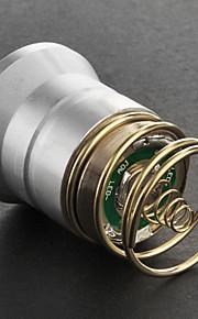 Cree XM-L T6 2-Mode lâmpada de luz branca (700LM, Prata)