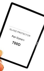 fotga® prémio LCD do painel de tela de vidro protetor para Canon EOS 700D