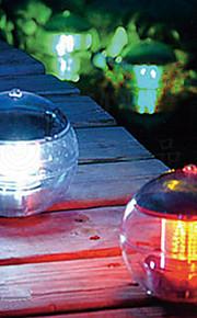 Energia Solar Mudando a cor do diodo emissor de luz flutuante Bola Lago Pond Piscina lâmpada (CIS-57230)