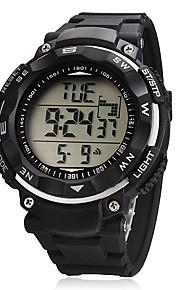 Masculino Relógio Esportivo Digital LCD / Calendário / Cronógrafo Banda Preta marca-