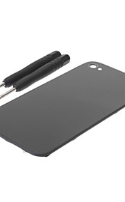 Lasi Battery Cover Back Housing for iPhone 4/4S With 2 KPL Open Työkalut