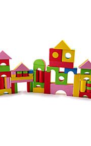 Store og mellemstore Fluffy Opskummet Børns Building Blocks