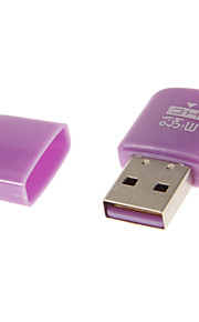 USB-устройство считывания карт 2.0 Память (розовый / зеленый / синий / фиолетовый / желтый)