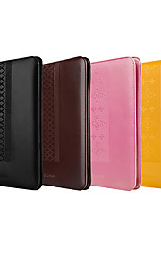 Colore solido Godronatura Progettato elegante custodia in pelle completo del corpo per iPad Air (colori assortiti)