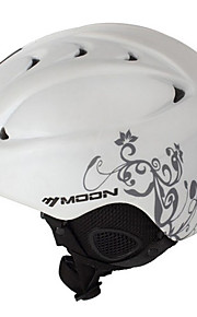 MOON Unsiex Gray Vine Wit Herfst / Winter ABS Ski / Snowboard Helm