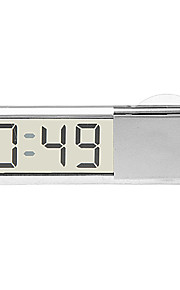 In-car Suction Cup Digital Clock