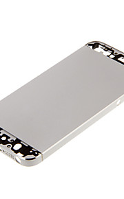 Silver Metal Alloy Back Battery Housing For iPhone 5s