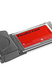 PCMCIA-Karte zu LPT Parallel Port Adapter für Laptop Notebook