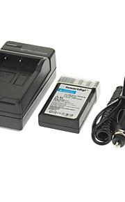 ismartdigi 1080mAh camera batterij + Car Charger voor Nikon D5000 D3000 D60 D40 D40X