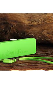 6500mah mini ultratunna bärbara strömbank externt batteri för iPhone 6/6 plus / 5 / 5s / samsung S4 / S5 / note2