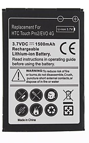 1500mAh bateria do HTC Touch Pro2/EVO 4G