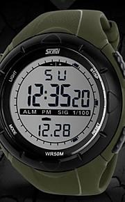 lcd relógio esportivo multifuncional Digital Resistente à água dos homens
