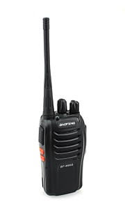 BaoFeng BF-666S  5W 16-Channel 400-470MHz Handheld Walkie Talkie / Interphone - Black