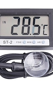 "ST-2 1.95"" LCD Digital Thermometer for Refrigerator Aquarium and More"