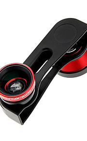 3-in-1 Kit Fish Eye Lens+Wide Angle Lens+Macro Lens for iPhone 5/5S