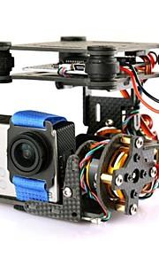 Carbon Fiber Gimbal Brushless Camera Mount + Motor til GO PRO DJI Phantom