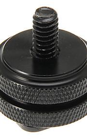 Duurzame Black 1/4 Circle Hot Shoe voor fotocamera