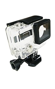 Accessories For GoPro Protective Case / Waterproof Housing Waterproof, For-Action Camera,Gopro 4/3+/2 1pcs PVC
