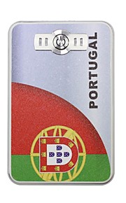 The World Cup Portable 6000mAh Power Bank with 4 in1 Connector (5V 1A , 5V 2A)(Portugal)