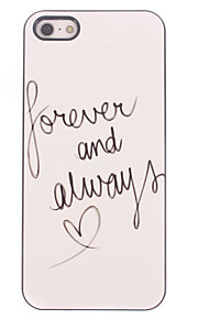 Forever and Always Design Aluminium Hard Case for iPhone 4/4S