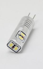 youoklight® g4 2.5W 6 * smd3014 100lm varma / kallt vitt ljus majs lökar (ac / 12V)