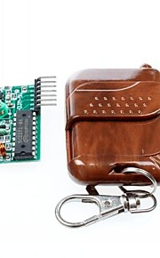 2262/2272 4-vejs trådløs fjernbetjening sæt M4 ikke låse modtage plade m / 4-nøgle fjernbetjening