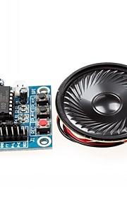 isd1820 오디오 녹음 모듈 / 마이크 / 스피커 w