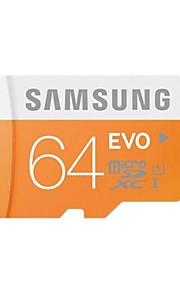 Samsung 64GB EVO Micro SDHC Upto 48MB/s Class10 UHS-1 Memory Card (MB-MP64D)
