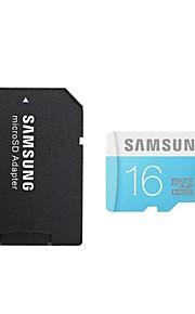 samsung 16gb klasse 6 microSDHC-hukommelseskort med SD-kort adapter