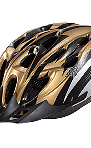 IFire Gold Black Unintegrally-molded Cycling Helmet